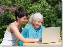 Как научить пожилых пользоваться компьютером и интернетом