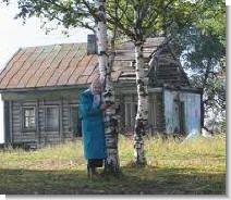 Одинокие старики в деревне